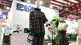 Foto de Epson apuesta por la impresión textil, la personalización y la impresión técnica de gran formato