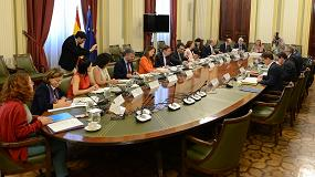 Foto de Planas analiza con las OPAs la situación del Plan Estratégico Nacional de la PAC