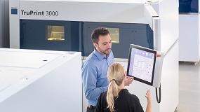 Foto de Las impresoras 3D de Trumpf ofrecen un proceso de producción sostenible para materiales resistentes al calor