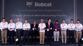 Foto de La nueva fábrica de Bobcat en India inicia su producción