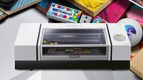 Foto de Roland DG lanza la impresora UV VersaUV LEF2-300 para una personalización avanzada, versátil y productiva