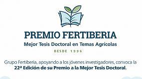 Foto de Fertiberia convoca una nueva edición de su Premio a la Mejor Tesis Doctoral en Temas Agrícolas