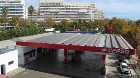 Foto de Cepsa inicia un proyecto para que sus estaciones de servicio se autoabastezcan de energía