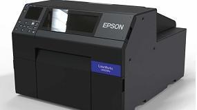 Foto de Epson presenta en la feria Labelexpo sus últimos modelos de impresoras de etiquetas ColorWorks y LabelWorks