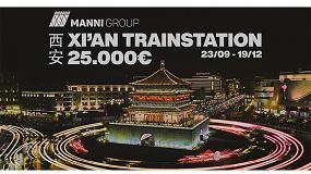 Foto de Isopan convoca el premio de arquitectura Manni Group Design Award ´Xi'An Train Station´