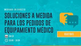 Foto de Gestión de pedidos específica del sector Medical Device: Sesión de información online