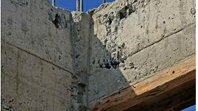 Foto de Anfapa explica la reparación de coqueras al desencofrar el hormigón