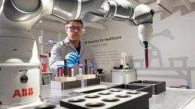 Foto de YuMi, el cobot de ABB, ayudará a personal médico y trabajadores de laboratorio