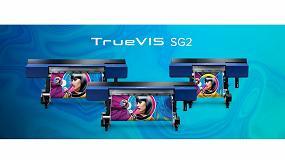 Foto de Roland DG amplía su línea de impresoras/cortadoras TrueVIS con la nueva serie SG2