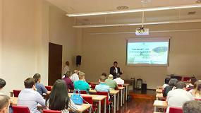 Foto de Pieralisi incide en su apuesta por la calidad en el curso de cata de la UNIA