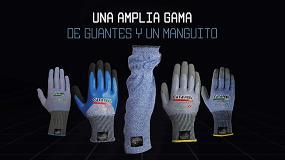 Foto de Cut & Feel, guantes con protección al corte sin fibra de vidrio