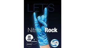 Foto de proteHo® Nitrile Rock, el nuevo guante desechable de nitrilo de Ramos STS