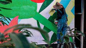 Foto de Escaleras Svelt, elevando el arte urbano