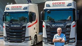 Foto de Transportes Cordero incorpora dos V8 de Scania