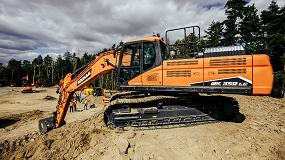 Foto de Doosan presenta su nueva excavadora DX350LC-7 Fase V con D-Ecopower