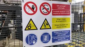 Foto de La prevención se inicia con la señalización