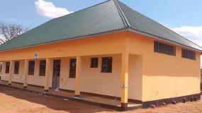 Foto de La Fundación SAME impulsa la construcción de una escuela de mecánica en Tanzania