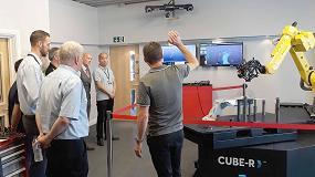 Foto de Creaform pone en marcha nuevos centros de demostración para el CUBE-R en Europa