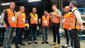 Foto de Instaladores de PYL visitan 4 de las fábricas de Spit en Francia