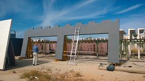 Foto de La construcción industrializada reduce los consumos de agua y energía