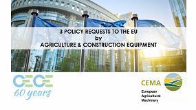 Foto de Los fabricantes europeos de maquinaria agrícola y construcción se unen en sus exigencias a la UE