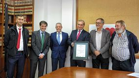 Foto de Aenor certifica a Gestagua como la primera empresa en obtener la nueva certificación ISO 50001 de Gestión Energética