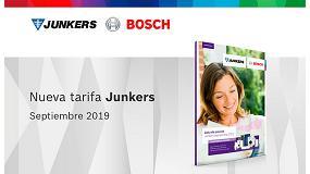 Foto de Junkers actualiza su tarifa de precios
