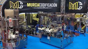 Foto de Murcia Codificación muestra en Empack su tecnología vanguardista