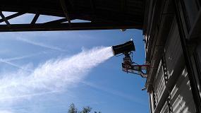 Foto de SprayStream mitiga el polvo en plantas de reciclaje