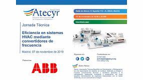 Foto de Atecyr Centro organiza una jornada sobre la eficiencia en sistemas HVAC mediante convertidores de frecuencia