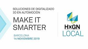 Foto de Ya están abiertas las inscripciones para el evento HxGN Local de Hexagon centrado en digitalizado 3D en automoción