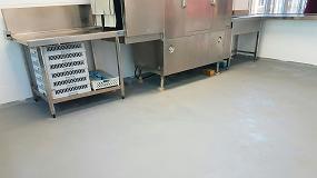 Foto de Lotum renueva el pavimento de las zonas de comedor, cocina, self-service, lavado y aulas del Liceo Francés Bon Soleil
