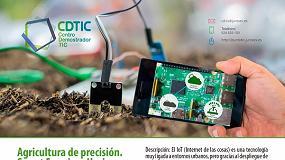 Foto de Jornada en Don Benito sobre Agricultura de Precisión y automatización