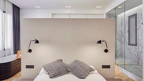 Foto de Ladaa Arquitectura escoge los interruptores E2 de Gira para una vivienda muy contemporánea