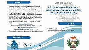 Foto de Jornada técnica sobre Soluciones para redes de riego y optimización del consumo energético