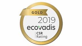 Foto de Canon, galardonada con la calificación de oro en sostenibilidad de EcoVadis