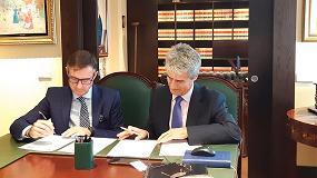 Foto de Afec y Fedaoc firman un convenio de colaboración en materia de seguridad industrial
