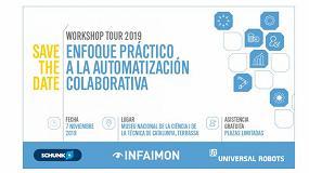 Foto de El Mnactec explicará las últimas innovaciones de la robótica colaborativa de la mano de UR, Schunk e Infaimon