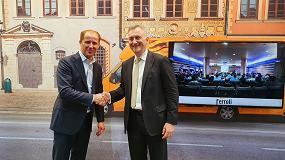 Foto de Acuerdo entre Ferroli y Vodafone Business para el desarrollo de las primeras calderas conectadas con tecnología IoT