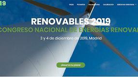 Foto de Abierto el plazo de inscripción al III Congreso Nacional de Energías Renovables