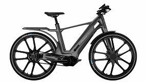 Foto de LFT Xencor de Solvay, elegido por Stajvelo para la primera bicicleta eléctrica hecha solo con polímeros