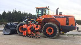 Foto de Doosan confirma un gran pedido de cargadoras de ruedas de Cemex
