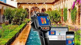 Foto de Nueva campaña testo: cámaras termográficas para diagnóstico en edificación