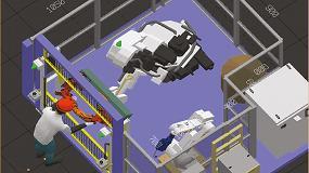 Foto de Robot colaborativo vs Cubic-S + robot industrial