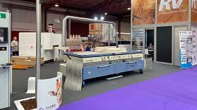 Foto de Global Vacuum Presses presenta en Fimap 2019 su máquina de termoconformado Global Duo