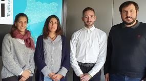 Foto de La AEI Tèxtils presenta su nuevo equipo