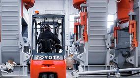 Foto de Firme compromiso de sostenibilidad de Toyota MHE