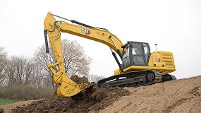 Foto de La nueva excavadora Cat 326 ofrece más eficiencia y altas prestaciones de excavado y elevación