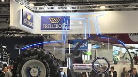 Foto de Trelleborg desarrolla un sistema de ajuste de presión de los neumáticos desde la cabina