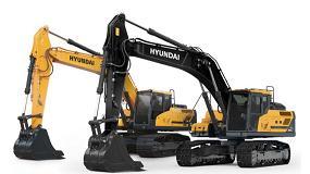Foto de Hyundai desvela el nuevo look de sus máquinas de la serie A durante la conferencia anual de concesionarios